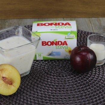 Yogurt de ciruela